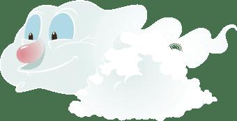 mundo noel nube