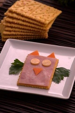Buhito de jamon en Saltin Noel Queso y Mantequilla