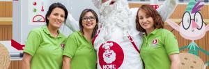 la vida de Papá Noel Galletero