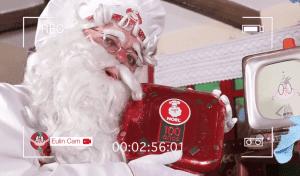 fábrica de galletas de Papá Noel