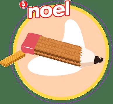 Lápices de Wafers Noel